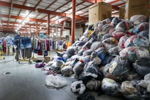 clothing and textile recycling and re-use